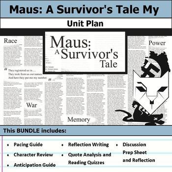 Maus - A Survivor's Tale Unit Bundle