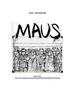 Maus - Art Spiegelman Workbook