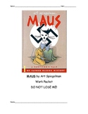 Maus Common Core Unit Packet