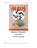 Maus Common Core Unit Packet