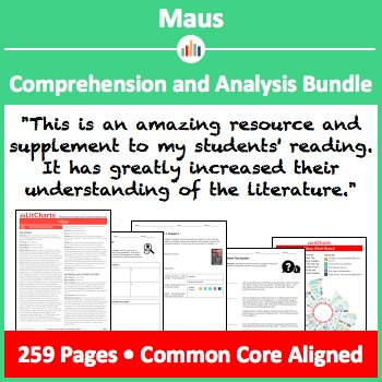 Maus – Comprehension and Analysis Bundle