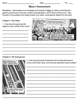 Maus I: Visual Literacy & Textual Analysis
