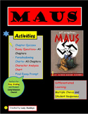 Maus I by Art Spiegelman- Activities, Quizzes, and Essays