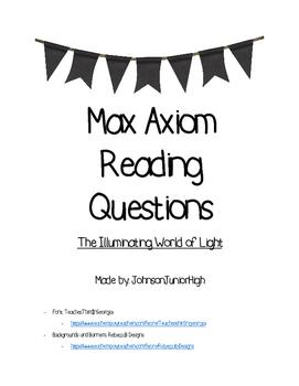 Max Axiom: The Illuminating World of Light
