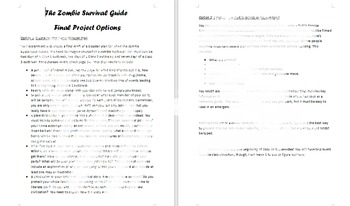 Max Brooks's Zombie Survival Guide Final