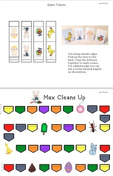 Max Cleans Up -- A Storybook Companion
