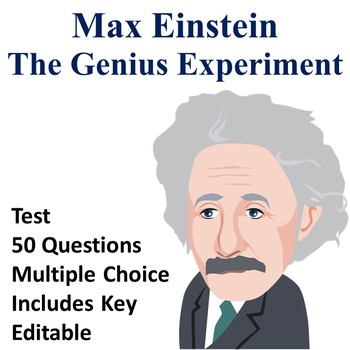 Max Einstein The Genius Experiment Test (EDITABLE)