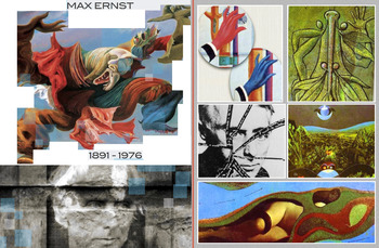 Max Ernst - Surreal Expression DaDa Art History - FREE POSTER
