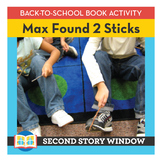 Max Found 2 Sticks • Back to School Book Companion Activity • 1st Day of School