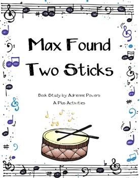 Max Found Two Sticks Book Companion