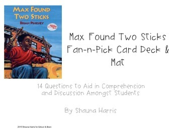 Max Found Two Sticks Fan & Pick Cards (Trophies 2nd grade)