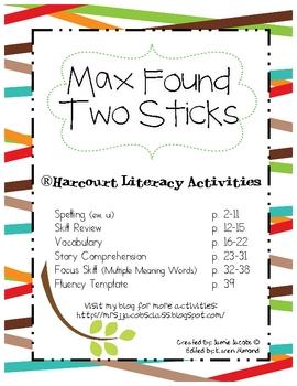 Max Found Two Sticks (Harcourt)