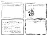 Max Found Two Sticks Vocabulary Practice Worksheet
