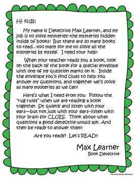 Max Learner Book Detective: A CCSS-Based Close Reading Strategy for Teachers