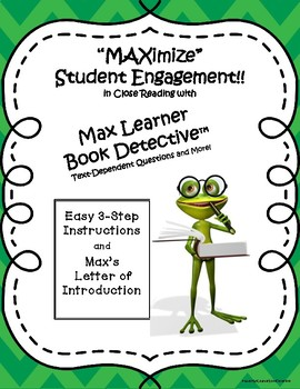 Max Learner Book Detective: A CCSS-Based Close Reading Motivational Strategy