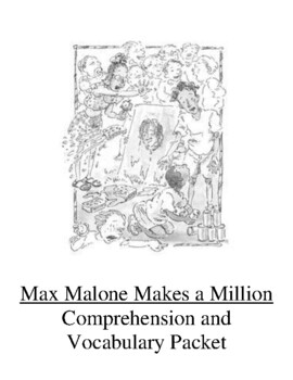 Max Malone Makes a Million Guided Reading Unit Level N
