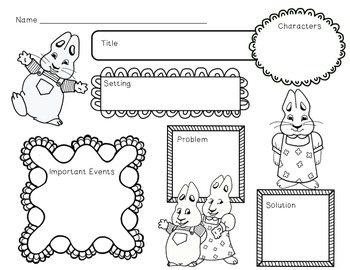Max & Ruby Unit~ Includes Graphic Organizers & Much More!