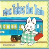 Max Takes The Train Amazing Words PPT