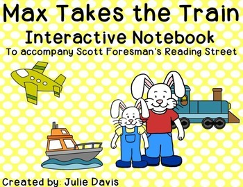 Max Takes the Train Interactive Notebook Journal