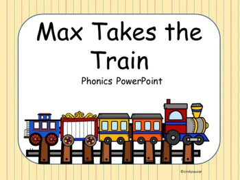 Max Takes the Train, Kindergarten, Interactive PowerPoint
