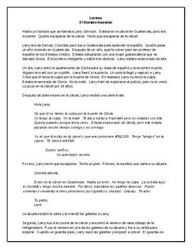 Max Tenía La Culpa - A Spanish TPRS Unit