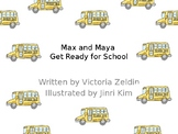 Back to School Morning Routine Interactive Story for Ipad/Keynote