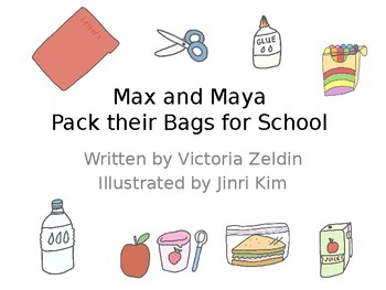 Expanding Vocabulary-What Goes in a Backpack? **Animated Storybook + Activity**