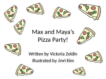 Pizza Party Sequencing Activity (Animated Storybook Freebie)