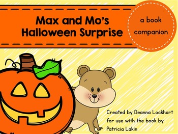 Max and Mo's Halloween Surprise - a book companion