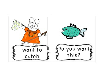 Max and Ruby: A Big Fish for Max Reading Street Fry Phrases