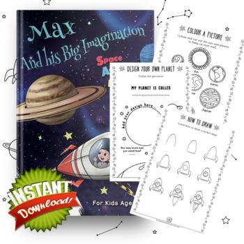 Max and his Big Imagination - Seaside Activity Book