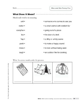 Max and the Funny Fox (Lexile 430)