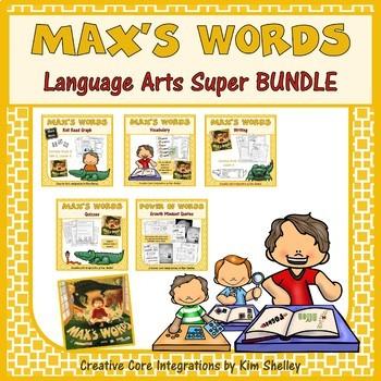 Max's Words Language Arts SUPER Bundle