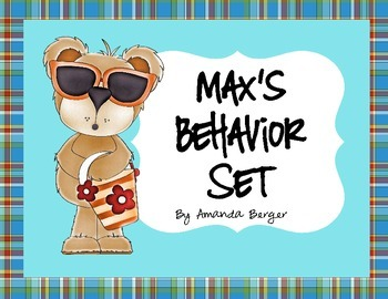 Max the Bear Behavior Set