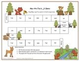 Max the Fox's _x Literacy Station Word Game RF.1.3, RF.2.3