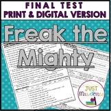 Freak the Mighty Final Test