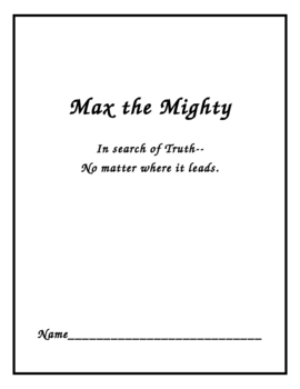 Max the Mighty Study Guide