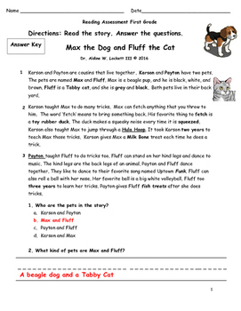 Max_&_FLUFF_1st-2nd_COMMON_CORE_READING_ASSESSMENT_DR_LOCKETT