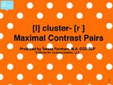 Maximal Contrast Bingo [l] clusters -[r]