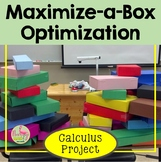 Applications of Differentiation Maximize-a-Box Project (Calculus - Unit 5)