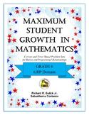Maximum Student Growth in Mathematics: 6.RP Domain