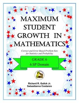 Maximum Student Growth in Math: 6.SP  BUNDLE