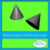Maximizing the Volume of a Cone