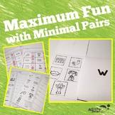 Minimal Pairs Activities for Speech