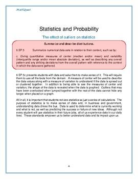 Maximum Student Growth in Math: 6.SP.B.5c