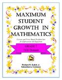 Maximum Student Growth in Mathematics: 7.EE Domain