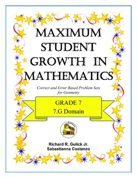 Maximum Student Growth in Mathematics: 7.G Domain