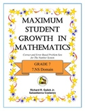 Maximum Student Growth in Mathematics: 7.NS Domain