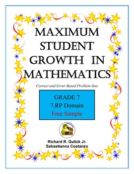 Maximum Student Growth in Mathematics:  7th Grade
