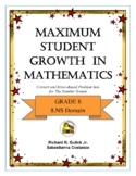 Maximum Student Growth in Mathematics:  8.NS Domain